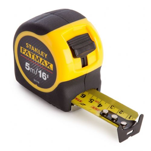 STANLEY FATMAX TAPE 5M/16ft 0-33-719